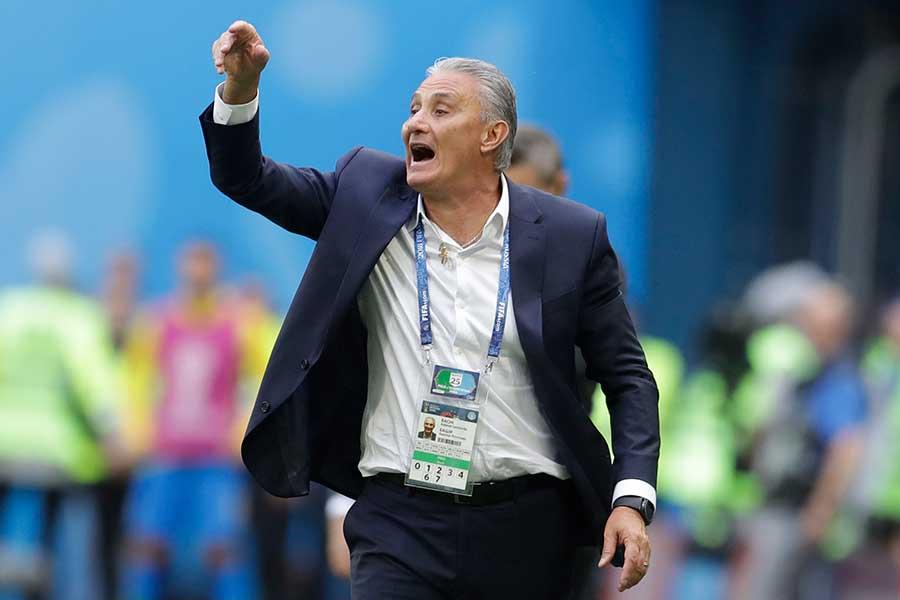 ブラジルのチッチ監督【写真:AP】