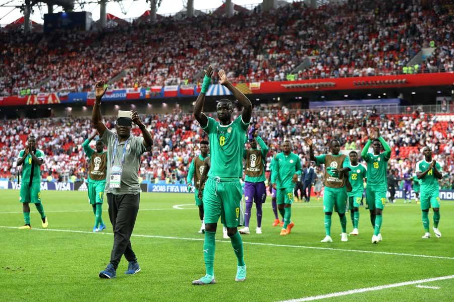 セネガル代表【写真:Getty Images】