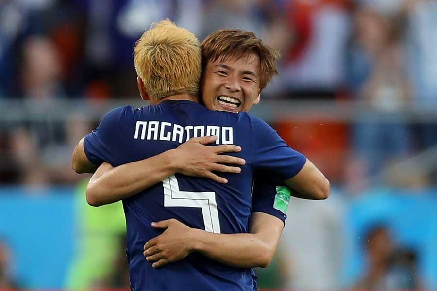 セネガル戦で活躍を見せた日本代表・MF乾貴士【写真:Getty Images】