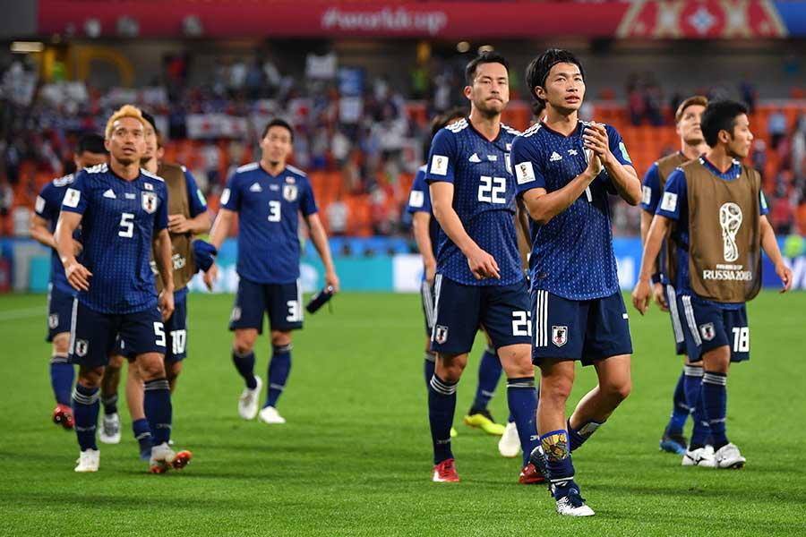 粘りの試合を見せ、セネガルを相手に2-2で引き分けた日本【写真:Getty Images】