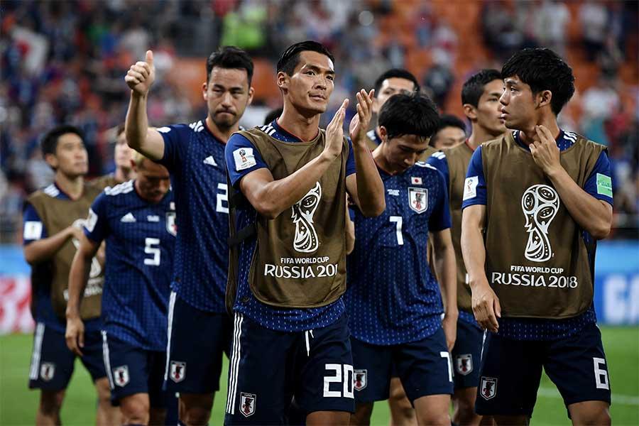 セネガル戦で2-2と引き分けた日本【写真:Getty Images】