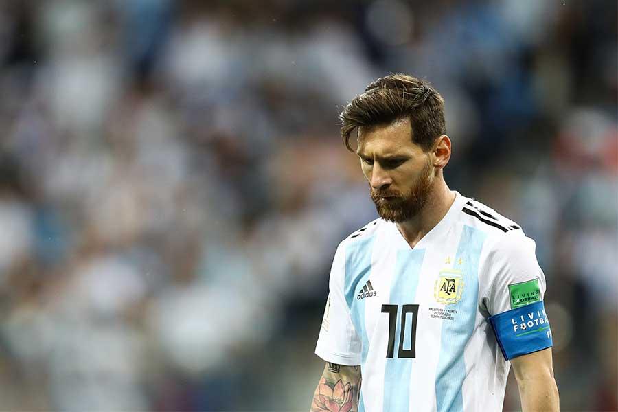 アルゼンチン代表・リオネル・メッシ【写真:Getty Images】