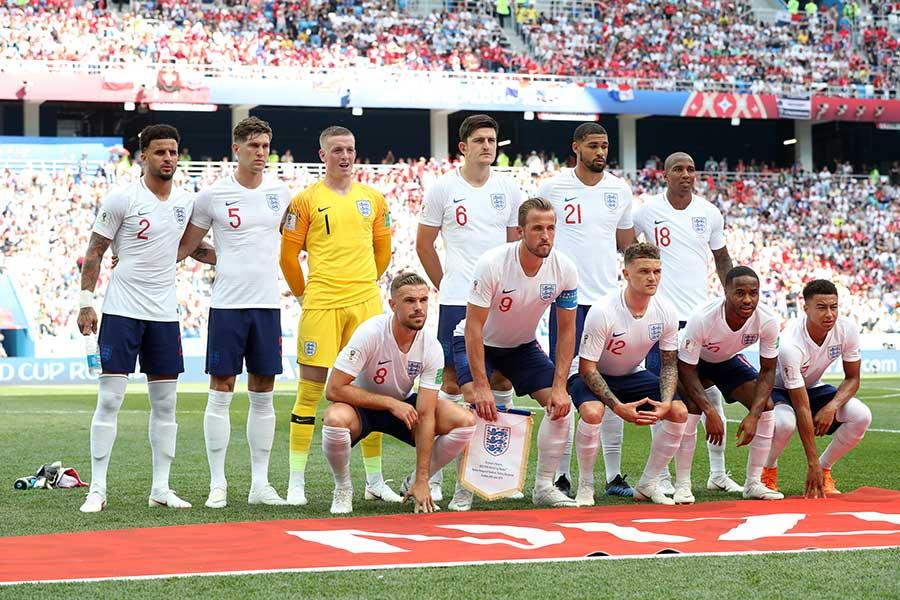 日本代表との対戦を望むイングランド代表【写真:Getty Images】