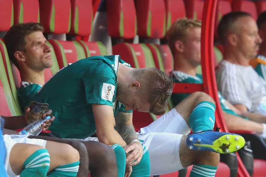 前回王者のドイツがグループリーグで敗退【写真:Getty Images】