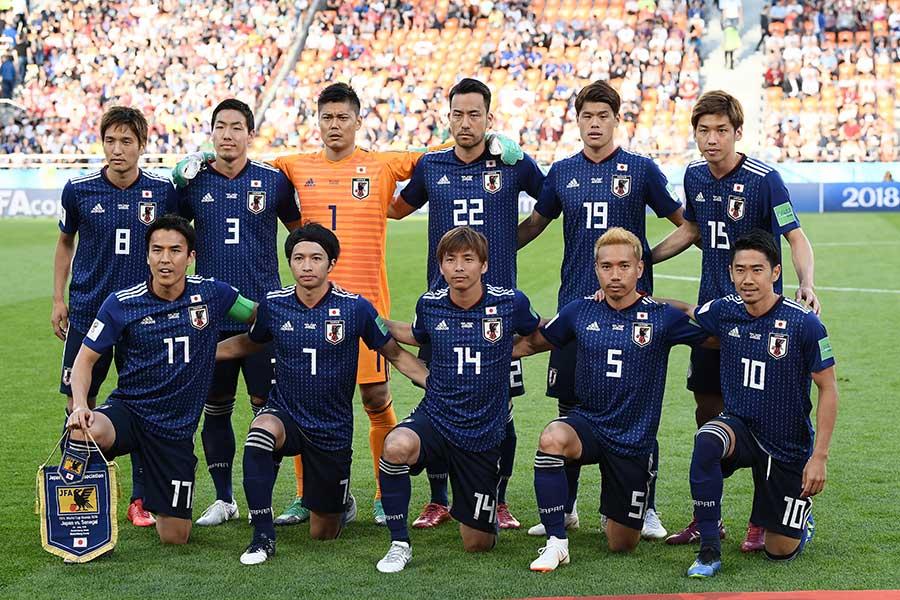 サッカー日本代表【写真:Getty Images】