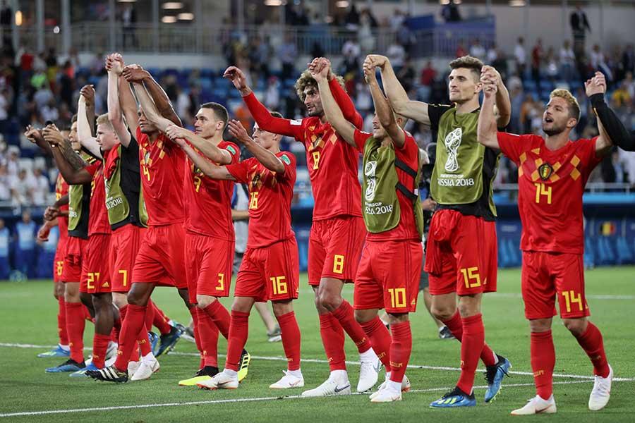 決勝トーナメント1回戦で日本と対戦が決まったベルギー【写真:Getty Images】