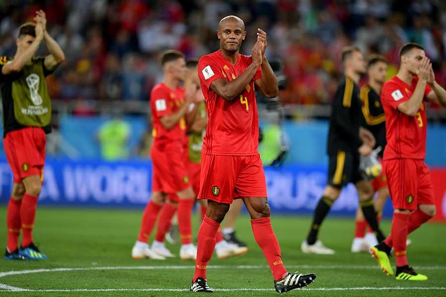 ベルギーが誇るワールドクラスのDFヴァンサン・コンパニ【写真:Getty Images】