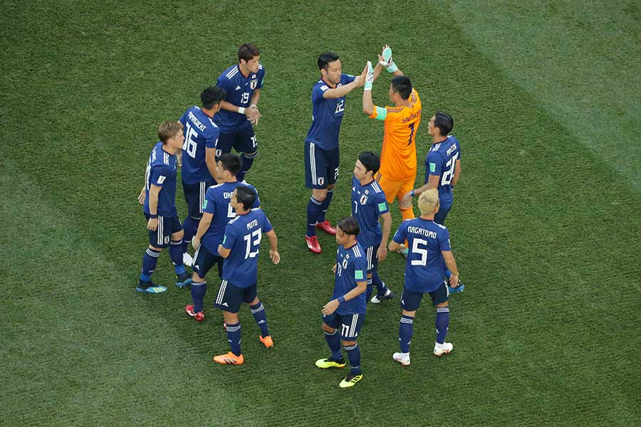 海外ファンからは「突破に値しない」とコメントが多い日本【写真:Getty Images】