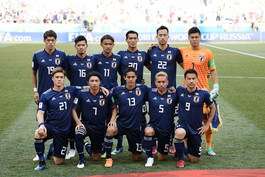 フェアプレーポイントによって決勝トーナメント進出を決めた日本代表【写真:Getty Images】