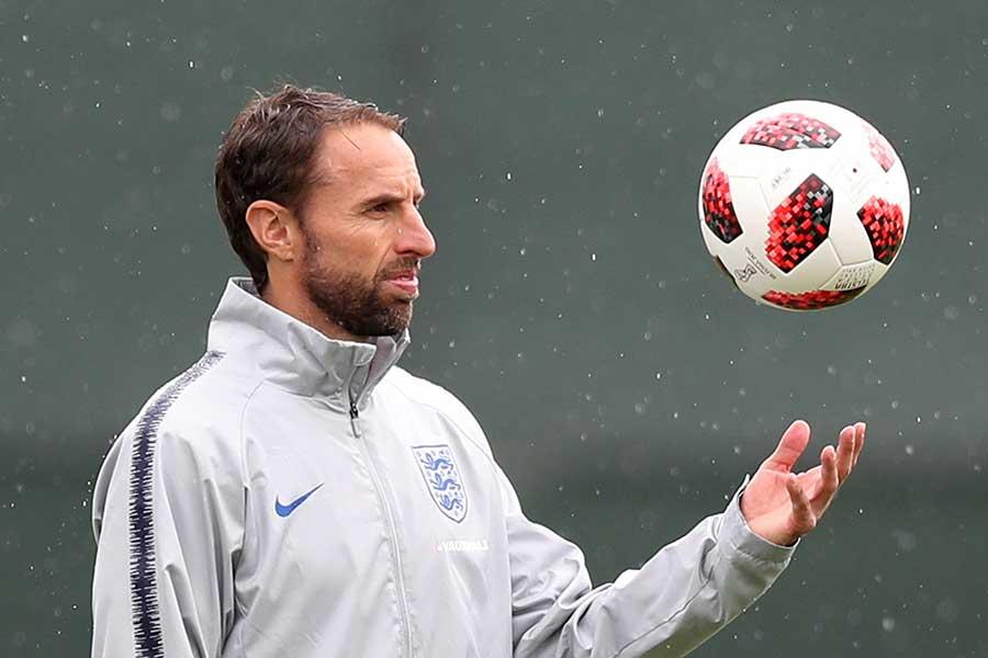 イングランド代表監督のサウスゲート【写真:Getty Images】