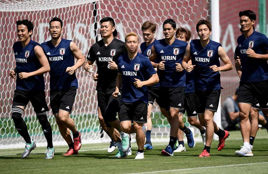 2大会ぶりに決勝トーナメントに臨む日本代表【写真:Getty Images】