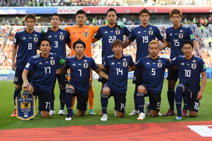 日本代表は決勝トーナメント1回戦で優勝候補のベルギーと対戦する【写真:Getty Images】