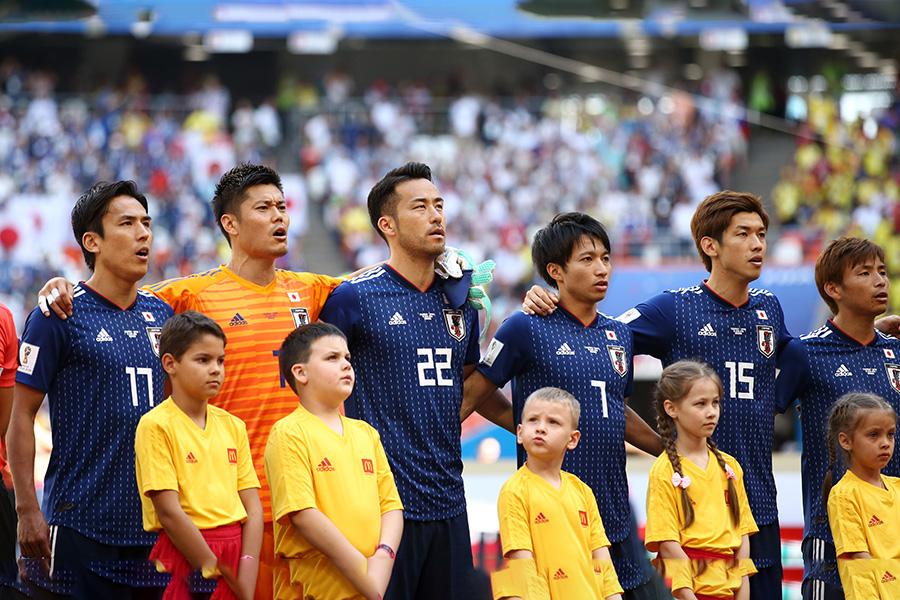 日本代表【写真:Getty Images】