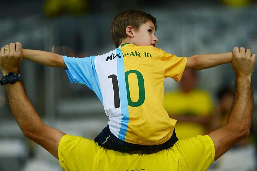 アルゼンチンで「ブラジル支持」70%という驚きの結果が【写真:Getty Images】