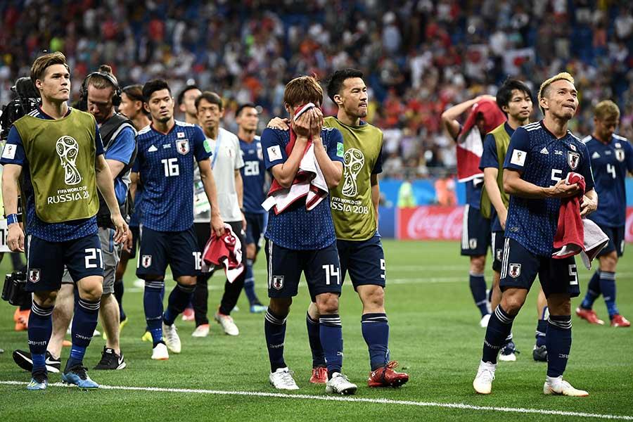 アジア勢で史上3度目となる8強の夢は、惜しくも叶わなかった日本代表【写真:Getty Images】