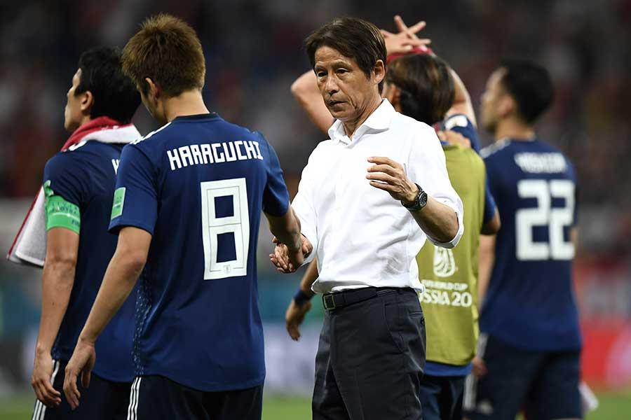 日本代表は一時は2点を先行するなど、FIFAランク3位の格上を追い詰めた【写真:Getty Images】