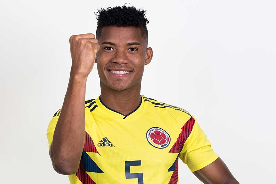 コロンビア代表のバリオス【写真:Getty Images】