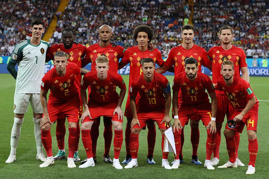 完璧なカウンターで逆転ゴールを決めたベルギー【写真:Getty Images】