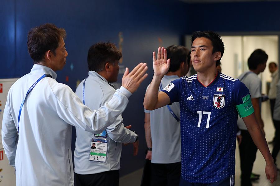 日本代表を引退する長谷部【写真:Getty Images】