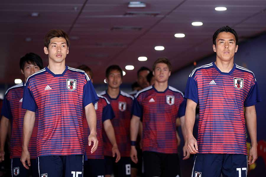 ワールドカップに出場した日本代表【写真:Getty Images】