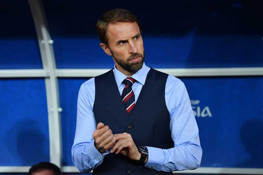イングランド代表監督のサウスゲート氏【写真:Getty Images】