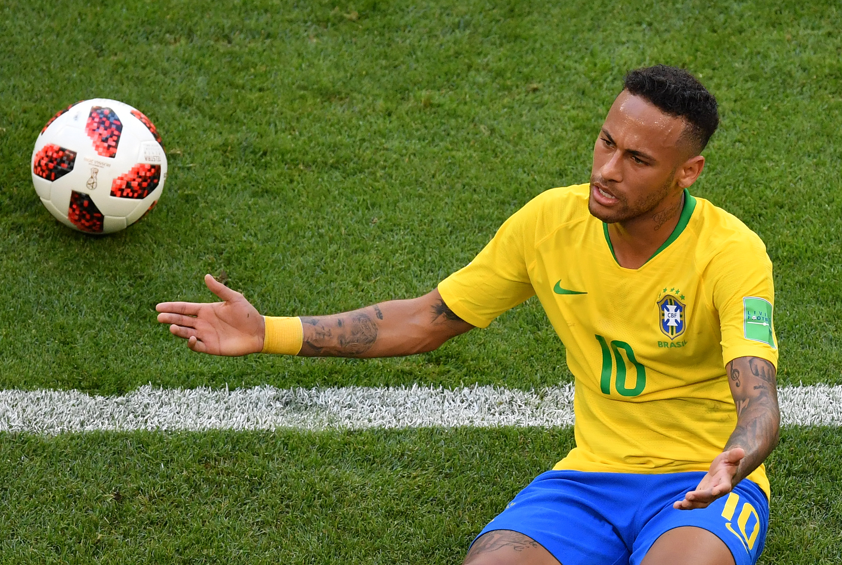 ブラジル代表FWネイマール【写真:Getty Images】