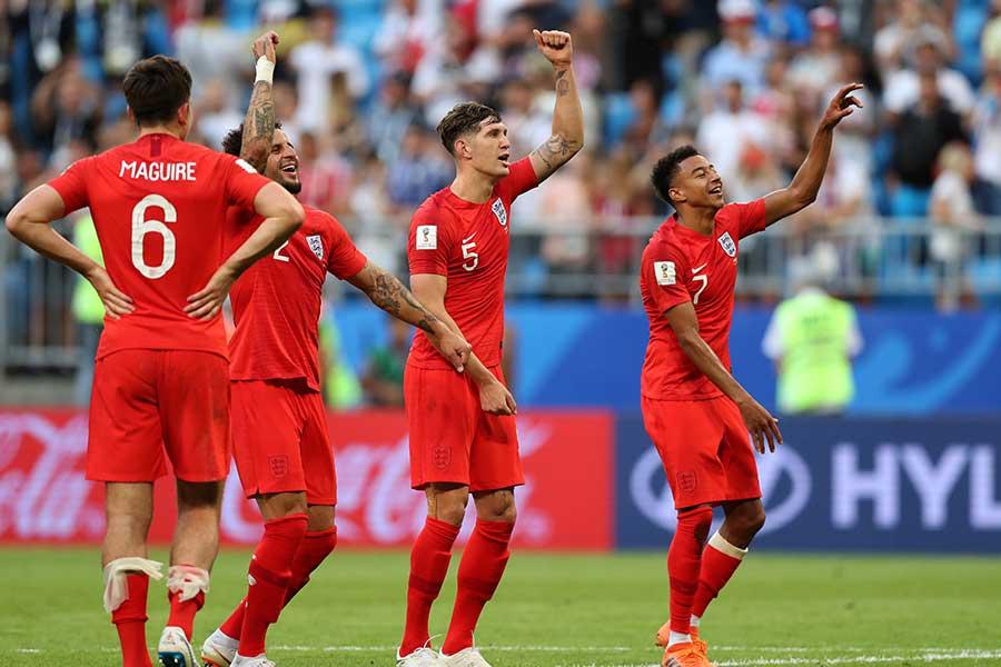 スウェーデンを下したイングランド【写真:Getty Images】