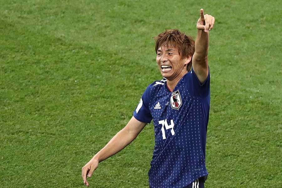 日本代表・乾貴士【写真:Getty Images】