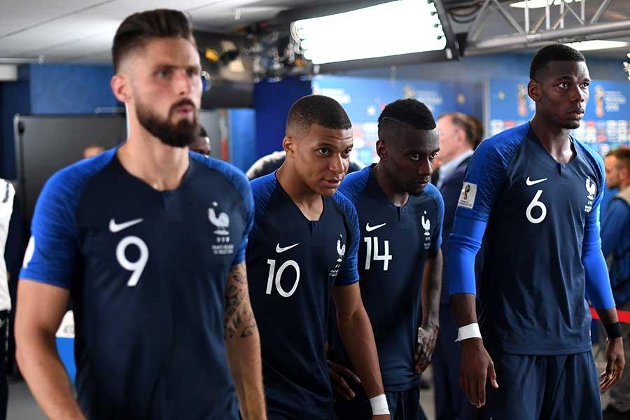 フランス代表【写真:Getty Images】