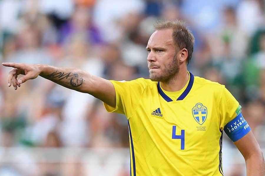スウェーデン代表グランクヴィスト【写真:Getty Images】