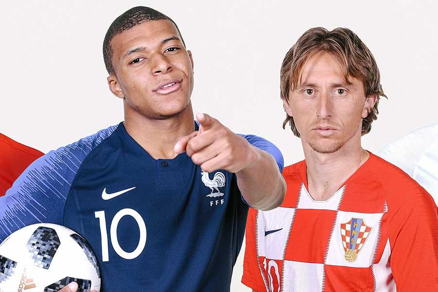フランスとクロアチアが決勝に進出【画像:Getty Images】