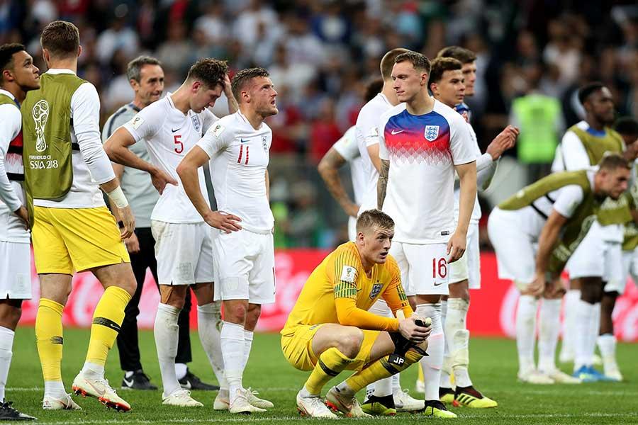 クロアチアに延長の末敗れたイングランド【写真:Getty Images】
