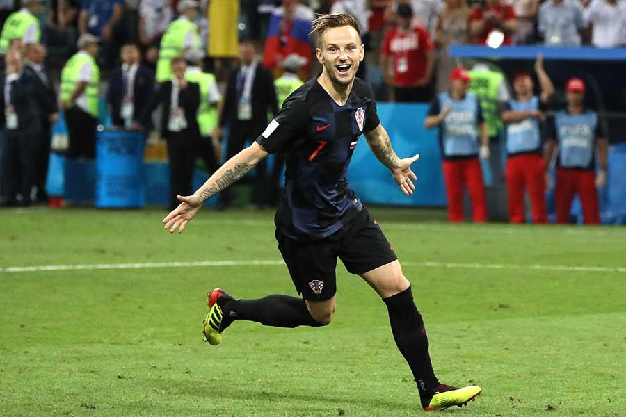 クロアチア代表のMFラキティッチ【写真:Getty Images】