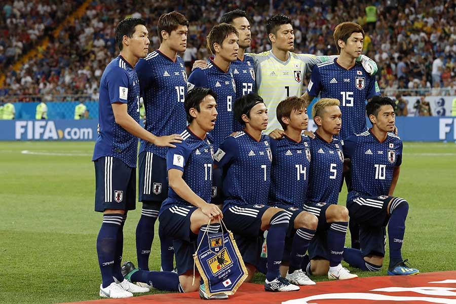 W杯での行動で世界中のチームの見本となった日本代表【写真:Getty Images】