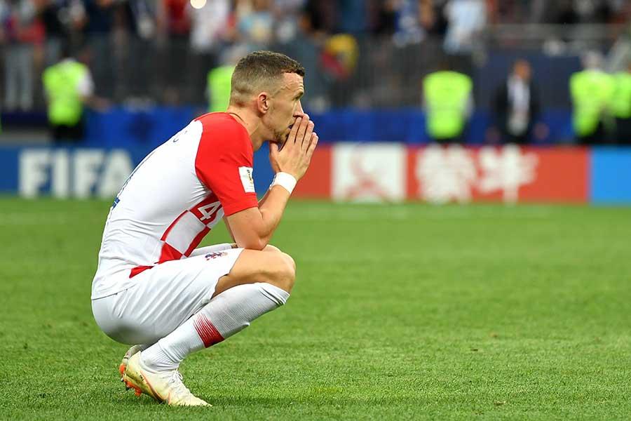 クロアチアFWイバン・ペリシッチ【写真:Getty Images】