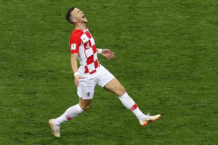 フランスとの決勝で「天国から地獄」を味わったイバン・ペリシッチ【写真:Getty Images】