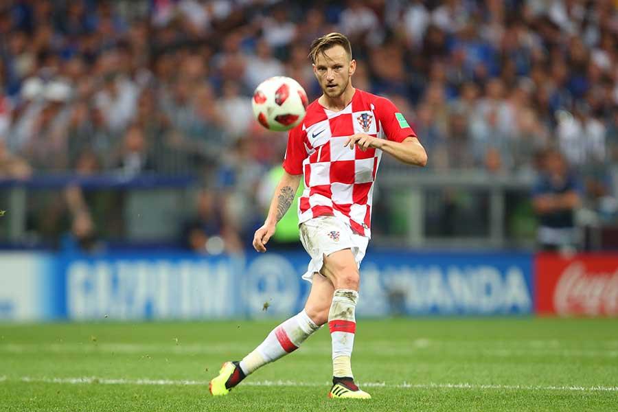 クロアチア代表のラキティッチ【写真:Getty Images】