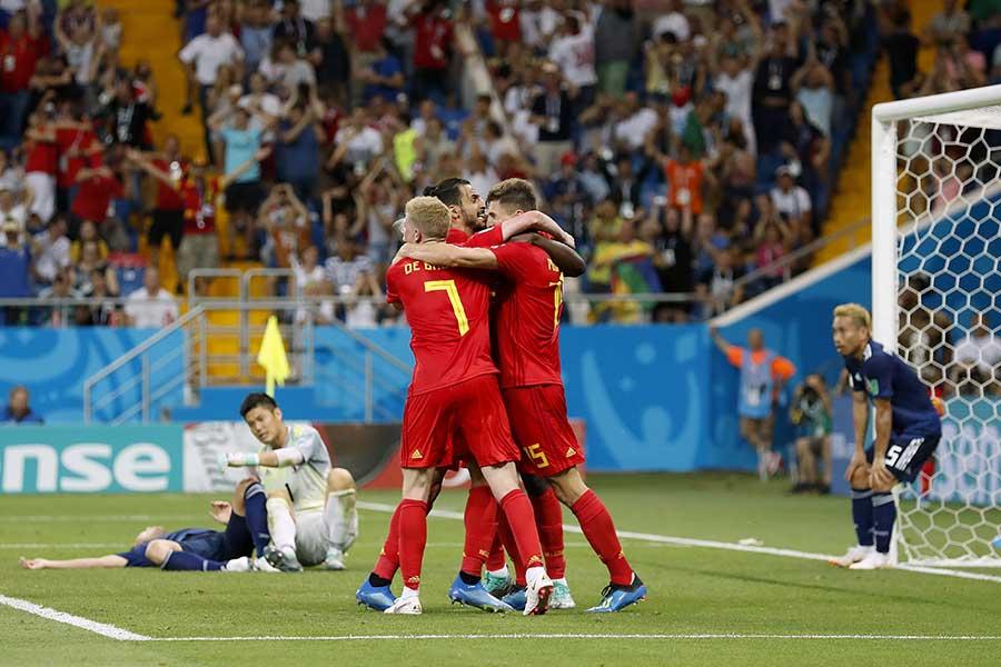 日本―ベルギー戦の決勝点となった超速カウンターを米放送局「CBS」は今大会のベストゴールに選出【写真:Getty Images】