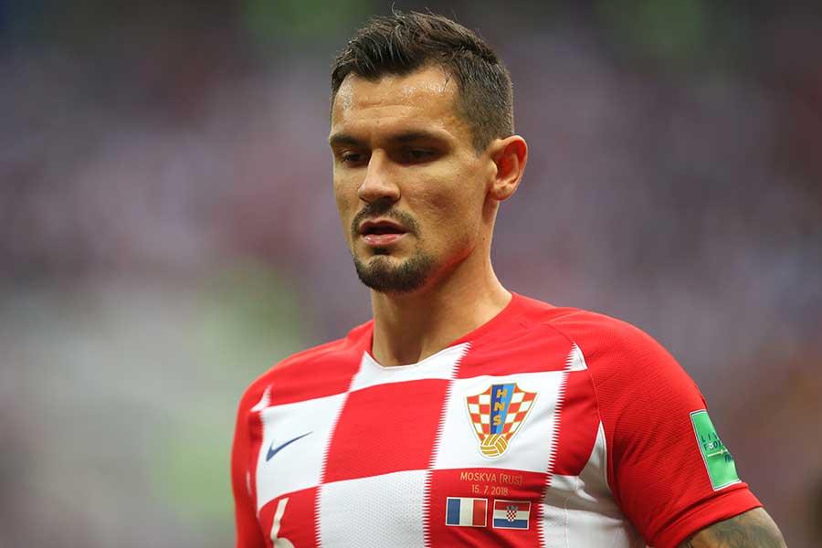 クロアチア代表のDF、デヤン・ロブレン【写真:Getty Images】