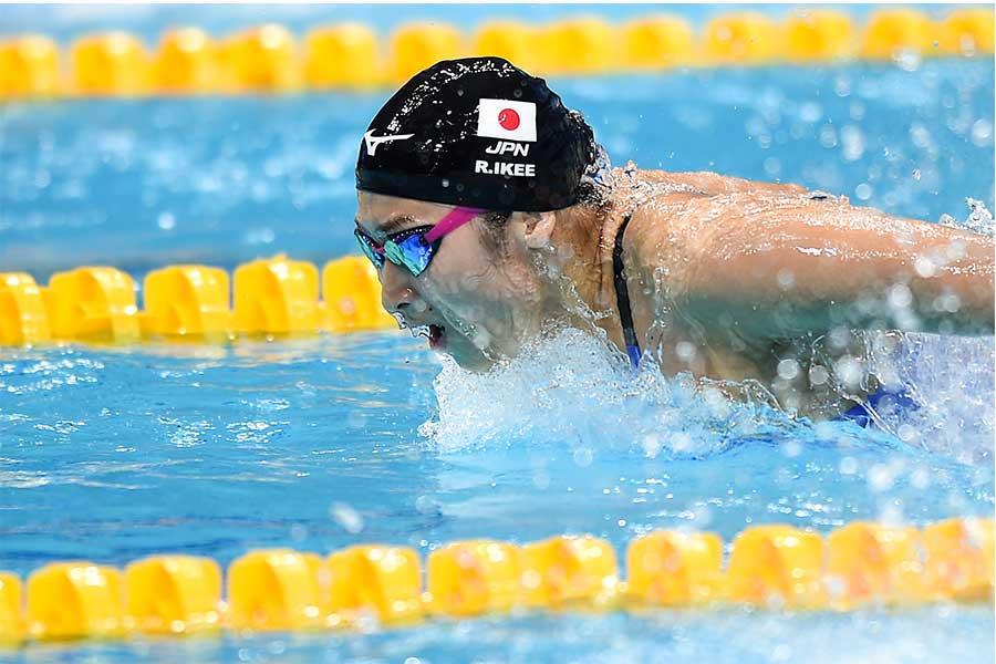 昨年の世界水泳に出場した池江璃花子【写真:Getty Images】
