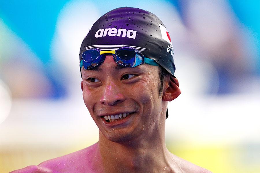 4度目のパンパシ水泳出場を決めた入江陵介【写真:Getty Images】