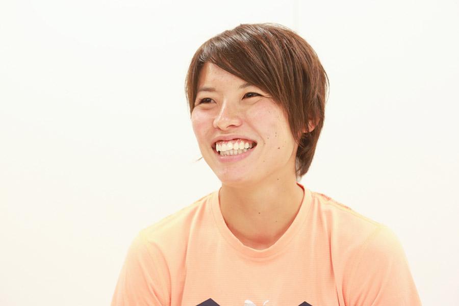 なでしこジャパンのキャプテンを務める熊谷紗季【写真:山田智子】