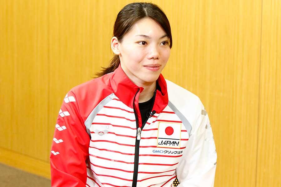 4月の日本選手権では100、200メートルと2種目で連覇を達成した青木玲緒樹【写真提供:テレビ朝日】