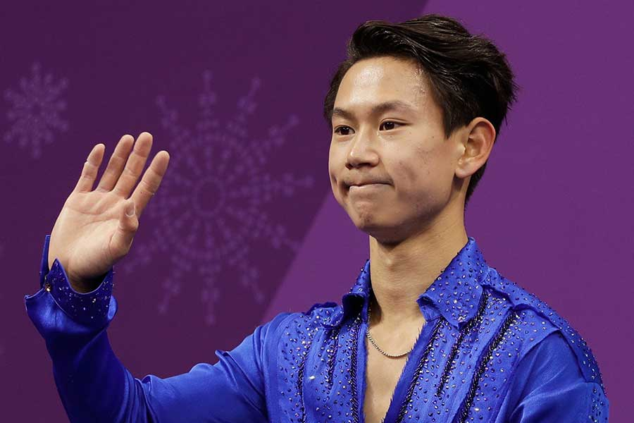 デニス・テンさんの悲報にスケート界ではショックが広がり続けている【写真:AP】