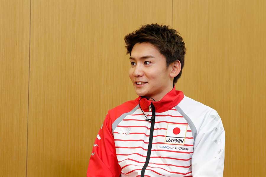 男子自由形の江原騎士【写真提供:テレビ朝日】
