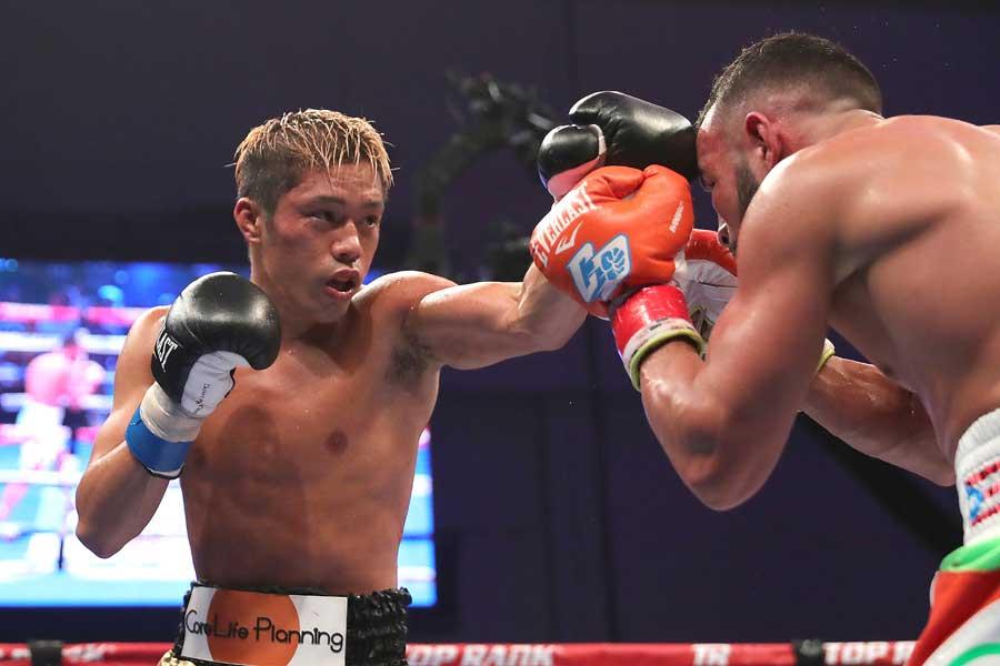WBO世界スーパーフェザー級王者・伊藤雅雪【写真:Getty Images】