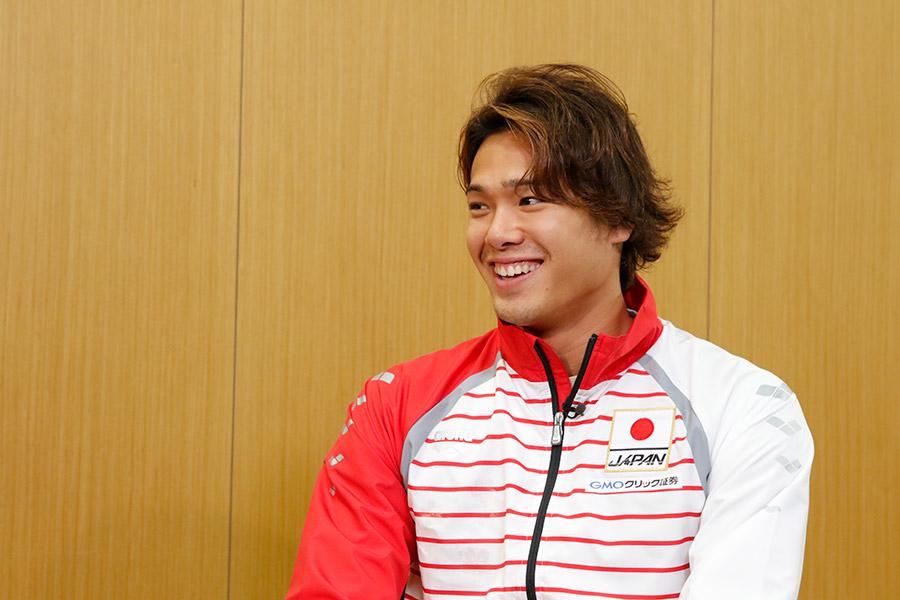 50m&100mで日本記録を持つ中村克【写真提供:テレビ朝日】