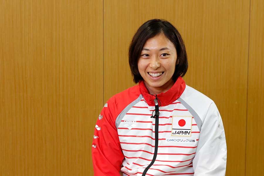 ロンドン五輪では3つのメダルを獲得した鈴木聡美【写真提供:テレビ朝日】