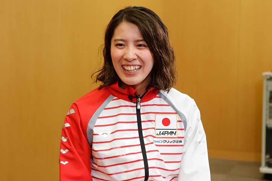 1年前の世界水泳で銀メダルを獲得し、鮮烈なインパクトを与えた大橋悠依【写真提供:テレビ朝日】