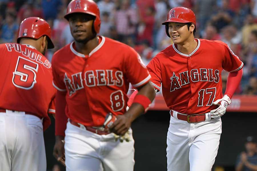 4打数2安打3打点2得点1盗塁と大暴れしたエンゼルス・大谷翔平【写真:Getty Images】